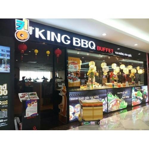 LẮP ĐẶT CHUÔNG GỌI KHÔNG DÂY CHO NHÀ HÀNG KING BBQ BUFFET