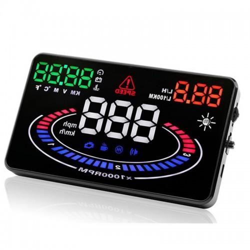Hiển thị tốc độ trên kính lái oto E300