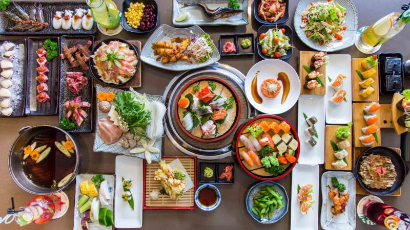 Các món ăn ngon tại nhà hàng Isushi Nguyễn Chí Thanh