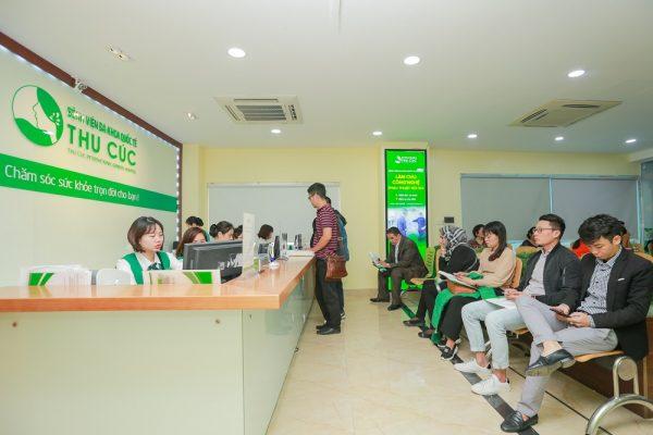Các khoa và chuyên khoa của bệnh viện Đa khoa Quốc tế Thu Cúc