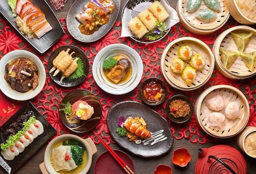 các món ăn tại nhà hàng ở trung quốc