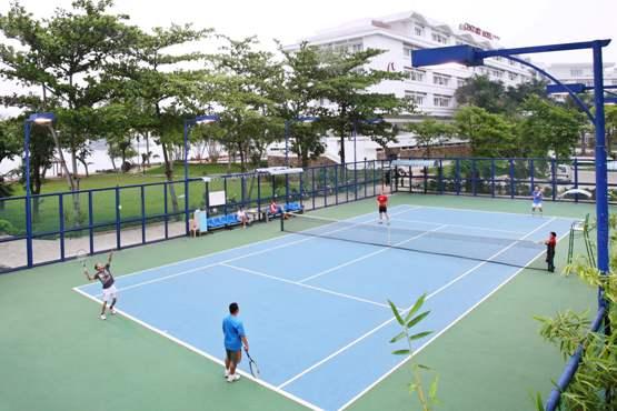 Giải pháp dánh cho sân tennis trên toàn Quốc