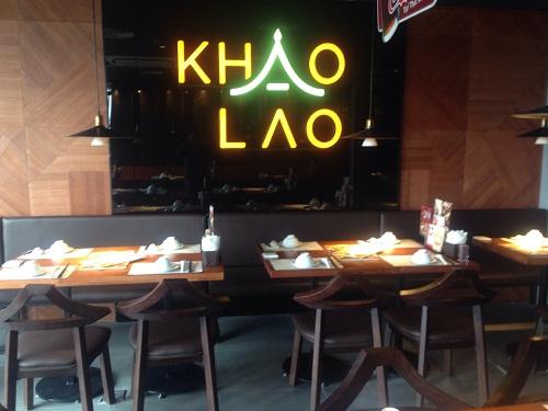 Chuông gọi không dây cho nhà hàng Khao Lao