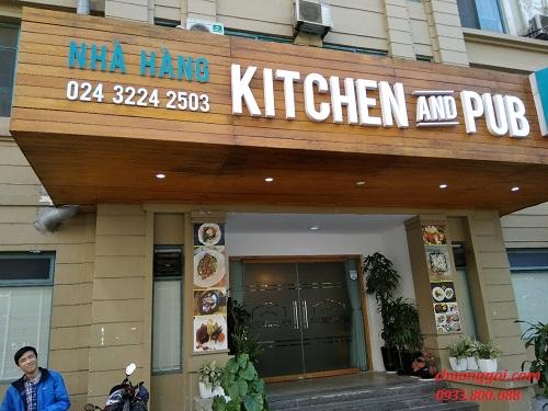 Chuông gọi không dây cho nhà hàng Kitchen and Pub